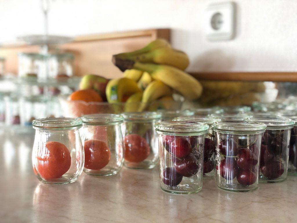Obst Frühstücksbuffet